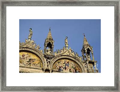 San Marco Basilica Framed Print by Sami Sarkis