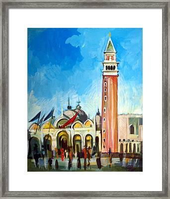 San Marco Square Framed Print
