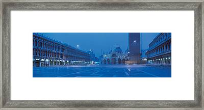 San Marco Square Venice Italy Framed Print by Panoramic Images