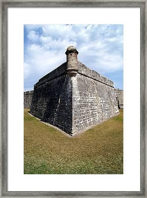 San Marcos Castle Framed Print by Ivan Gonzalez