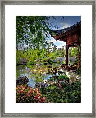San Marino - Huntington Botanical Gardens 006 Framed Print by Lance Vaughn