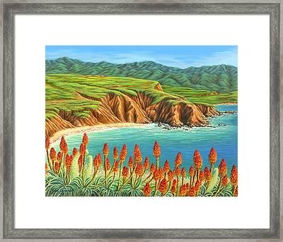 San Mateo Springtime Framed Print