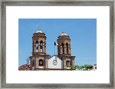 San Miguel Archangel Church, El Framed Print