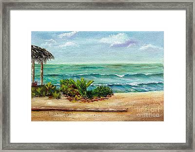 San Onofre Beach Framed Print