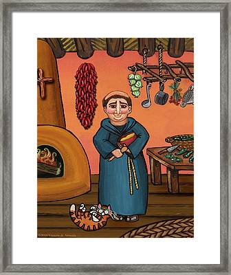 San Pascual And Vigas Framed Print
