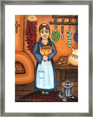 San Pascual Bad Kitty Framed Print