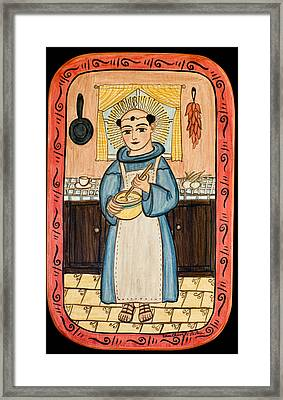 San Pascual Framed Print by Ellen Chavez de Leitner
