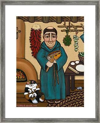 San Pascual Framed Print by Victoria De Almeida