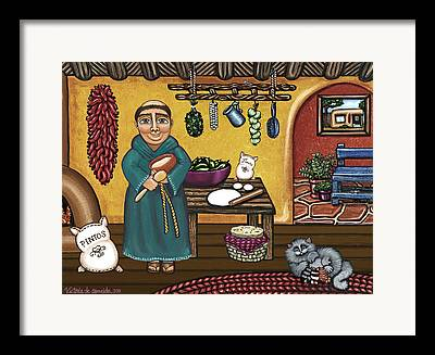 Pan Pascal Framed Prints