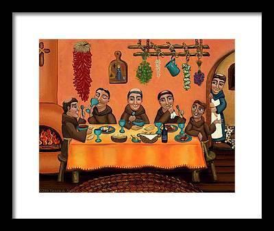Hispanic Framed Prints
