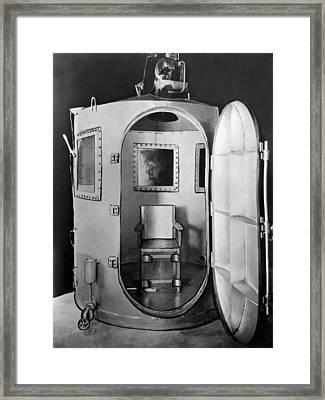 San Quentin Gas Chamber Framed Print