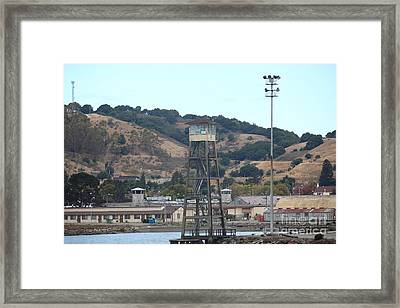San Quentin Prison In Marin County California 5d29357 Framed Print