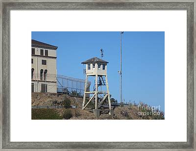 San Quentin Prison In Marin County California 5d29481 Framed Print
