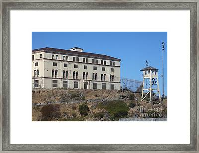 San Quentin Prison In Marin County California 5d29482 Framed Print
