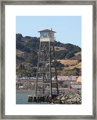 San Quentin Prison In Marin County California 5d29483 Framed Print