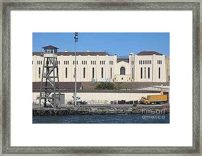 San Quentin Prison In Marin County California 5d29485 Framed Print