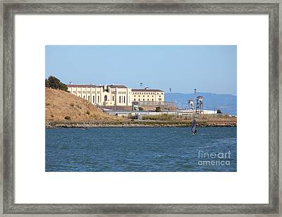 San Quentin Prison In Marin County California 5d29489 Framed Print