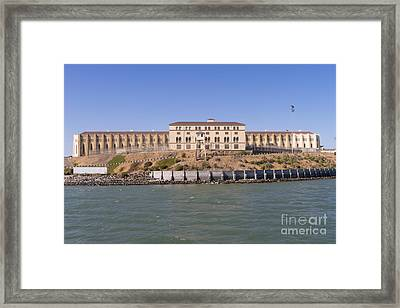 San Quentin Prison In Marin County California Dsc1663 Framed Print