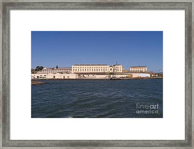 San Quentin Prison In Marin County California Dsc1673 Framed Print