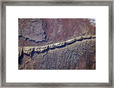 San Rafael Reef Framed Print by Nasa
