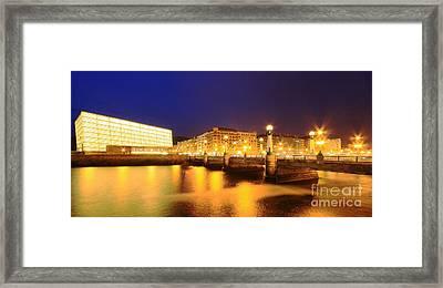 Framed Print featuring the photograph San Sebastian 3 by Mariusz Czajkowski