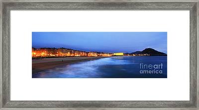 Framed Print featuring the photograph San Sebastian 4 by Mariusz Czajkowski