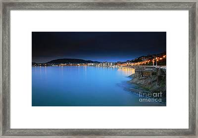 Framed Print featuring the photograph San Sebastian 5 by Mariusz Czajkowski