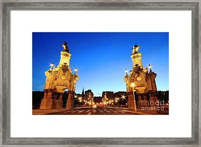 Framed Print featuring the photograph San Sebastian 6 by Mariusz Czajkowski