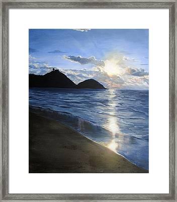 San Sebastian Framed Print by Jessica Tookey