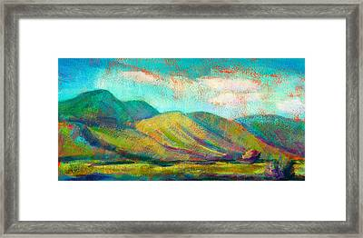 San Simeon Framed Print by Athena  Mantle