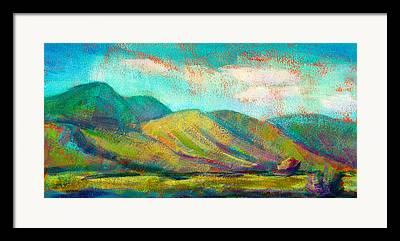 Mountians Framed Prints