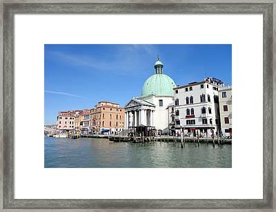 San Simeone Piccolo Framed Print