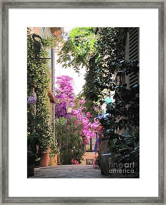 Framed Print featuring the photograph St Tropez by HEVi FineArt