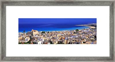 San Vito Lo Capo, Sicily, Italy Framed Print