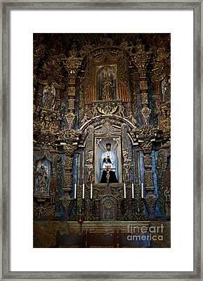 San Xavier Del Bac #13 Framed Print by Lee Craig