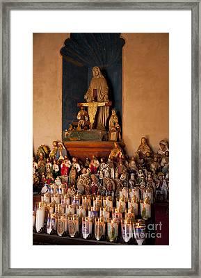 San Xavier Del Bac #43 Framed Print by Lee Craig