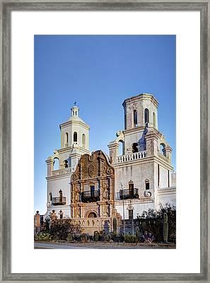 San Xavier Del Bac Framed Print