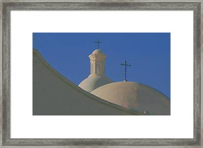 Framed Print featuring the photograph San Xavier Del Bac by Susan Rovira