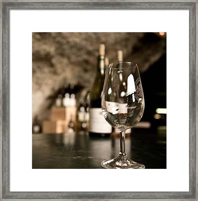 Sancerre Wine Framed Print by Oleg Koryagin