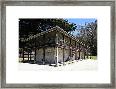 Sanchez Adobe Pacifica California 5d22642 Framed Print by Wingsdomain Art and Photography