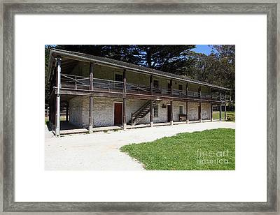Sanchez Adobe Pacifica California 5d22643 Framed Print by Wingsdomain Art and Photography
