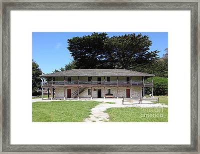 Sanchez Adobe Pacifica California 5d22644 Framed Print by Wingsdomain Art and Photography