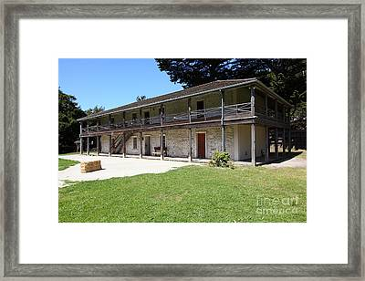 Sanchez Adobe Pacifica California 5d22647 Framed Print by Wingsdomain Art and Photography