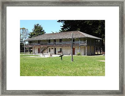 Sanchez Adobe Pacifica California 5d22650 Framed Print by Wingsdomain Art and Photography