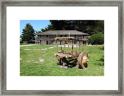 Sanchez Adobe Pacifica California 5d22653 Framed Print by Wingsdomain Art and Photography