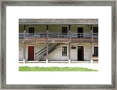 Sanchez Adobe Pacifica California 5d22655 Framed Print by Wingsdomain Art and Photography