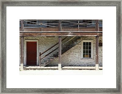 Sanchez Adobe Pacifica California 5d22656 Framed Print by Wingsdomain Art and Photography
