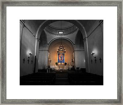 Sanctuary 2 -- Mission Concepcion Framed Print by Stephen Stookey