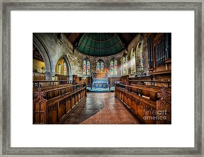 Sanctuary Framed Print by Adrian Evans