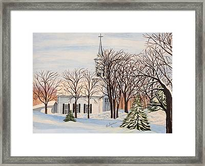 Sanctuary Framed Print by Barbara Willms